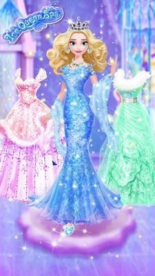 冰雪皇后梦幻化妆软件截图2