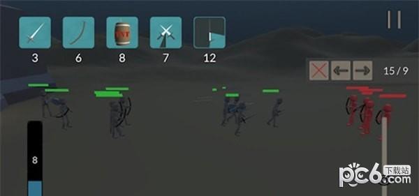 火柴人城堡战争软件截图1