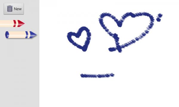 红蓝儿童画板软件截图0