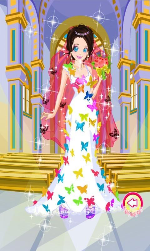 公主蝴蝶纱换装软件截图2