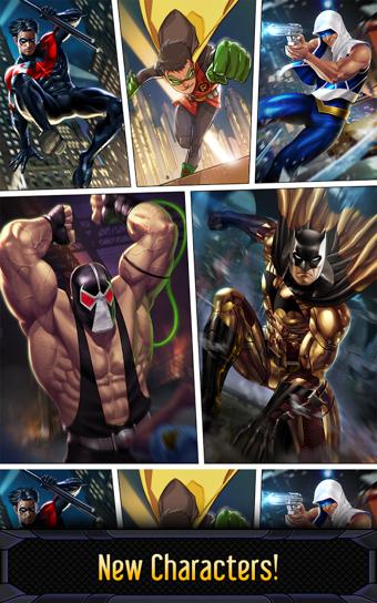 蝙蝠侠与闪电侠英雄跑酷软件截图0