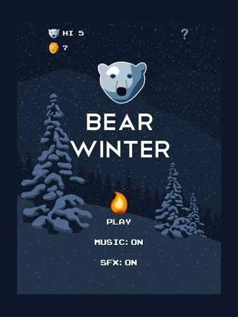 冬季北极熊软件截图0