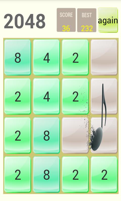 2048钢琴版软件截图2