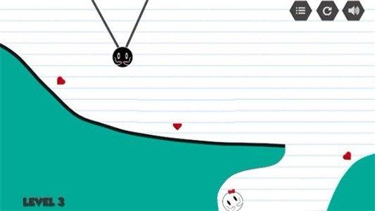 恋爱黑白球软件截图1