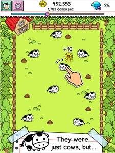 疯狂奶牛进化软件截图3