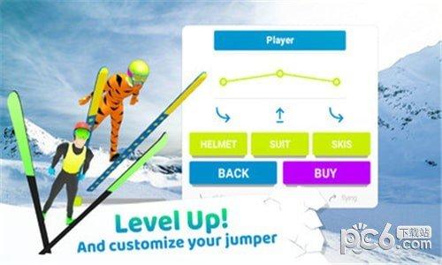 跳台滑雪竞技软件截图3