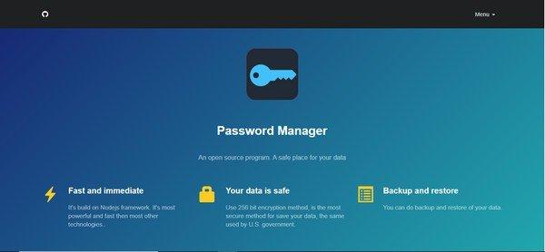 PasswordManager(账号密码管理器)