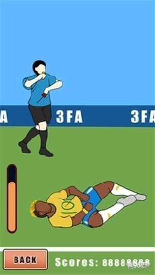 内马尔世界杯翻滚