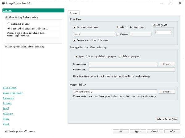 Image Printer Pro(虚拟打印机软件)