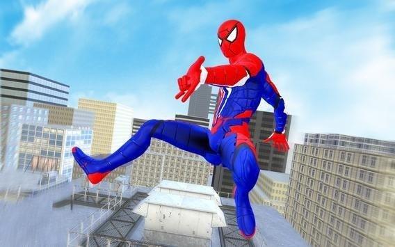 蜘蛛英雄战斗歹徒绳之战软件截图1