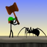 火柴人与蜘蛛