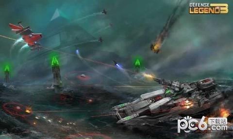 塔防传奇3未来战争