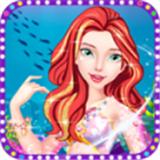 美人鱼公主化妆游戏