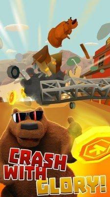 棕熊森林跑酷软件截图2