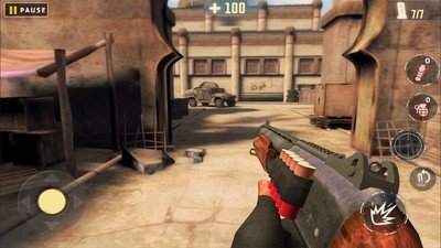 前线反击枪射击恐怖袭击软件截图1