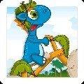 小恐龙骑单车