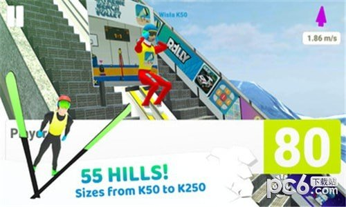 跳台滑雪竞技软件截图1