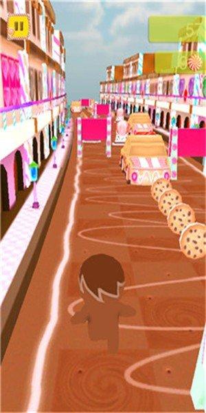 糖果人跑步3D软件截图0
