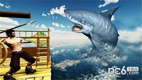 木筏求生鲸鲨猎人软件截图2