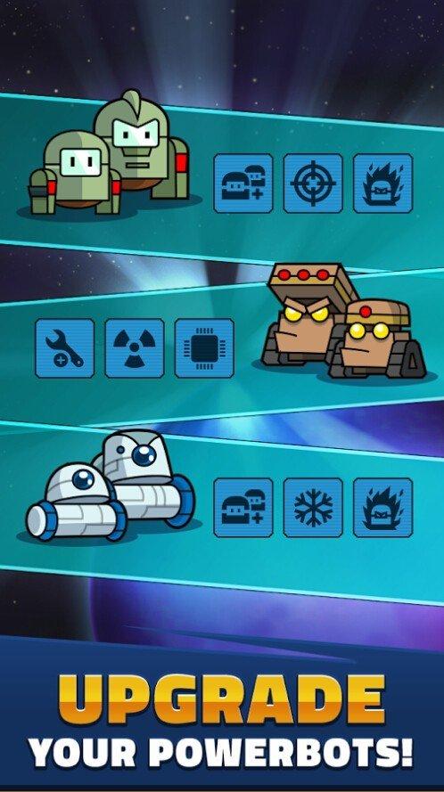 强力机器人防御
