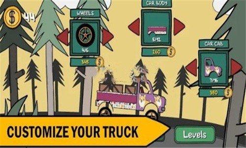 爬山卡车司机软件截图1