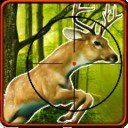 3D鹿的猎人