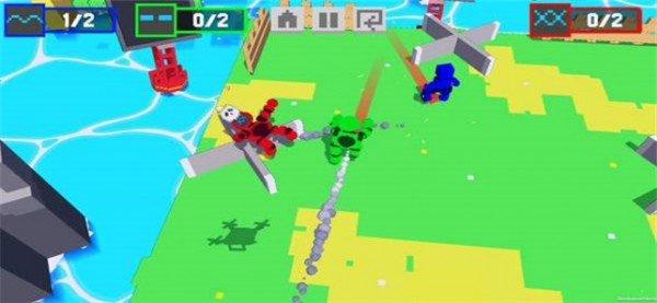 机器人战聚会4人
