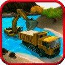 砂挖掘机驾驶3D