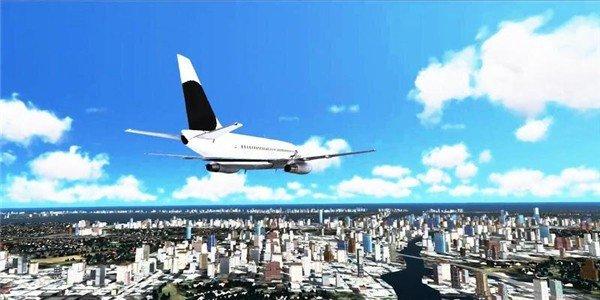 三维城市飞行