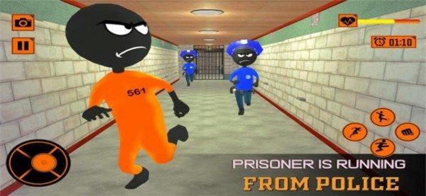 火柴人逃脱越狱软件截图3
