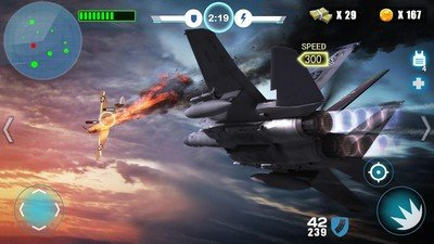 空中战争之雷霆射击软件截图3
