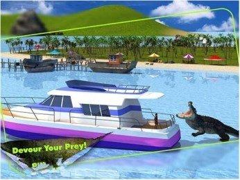 3D鳄鱼模拟软件截图2
