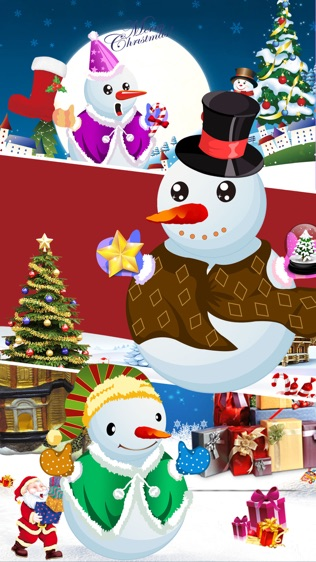 圣诞雪人装扮