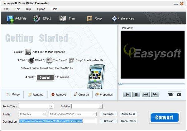 4Easysoft Palm Video Converter(视频转换软件)