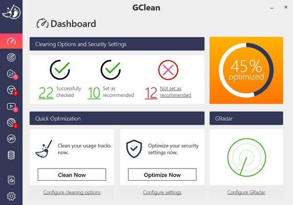 Abelssoft GClean(系统清理软件)下载