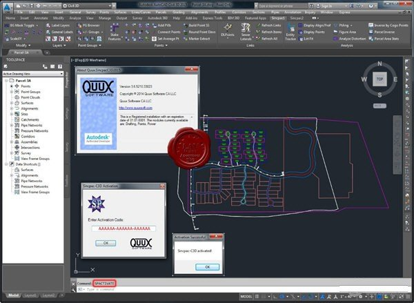Quux Sincpac C3D(3D测量插件)