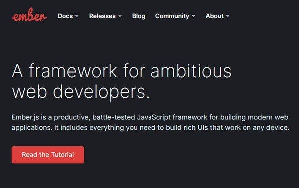 Ember.js(JavaScript框架)