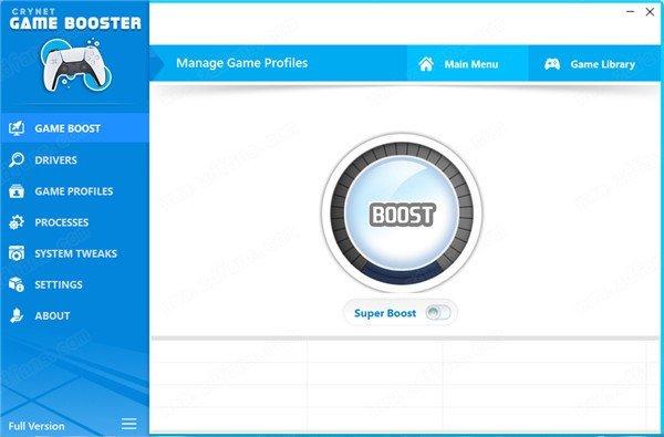 Crynet Game Booster(游戏增强器)