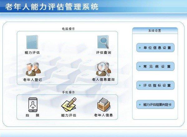 老年人能力评估管理系统下载