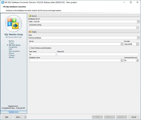 MS SQL Database Converter(数据库转换工具)下载
