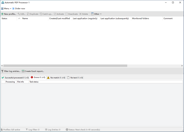Gillmeister Automatic PDF Processor(PDF文件处理软件)
