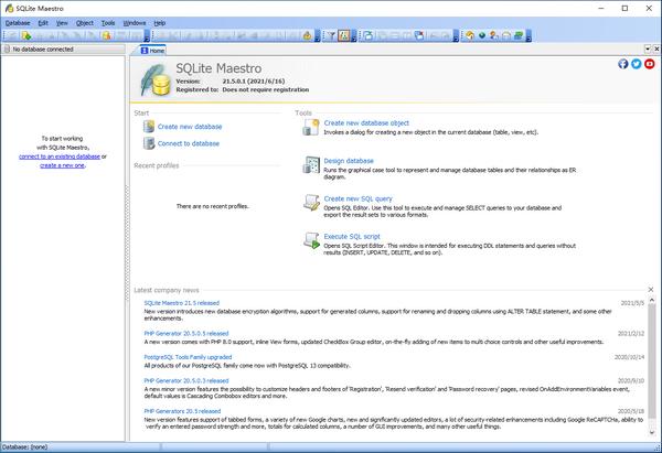 SQLite Maestro(数据库管理软件)下载