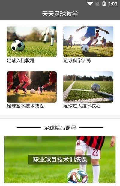 天天足球教学
