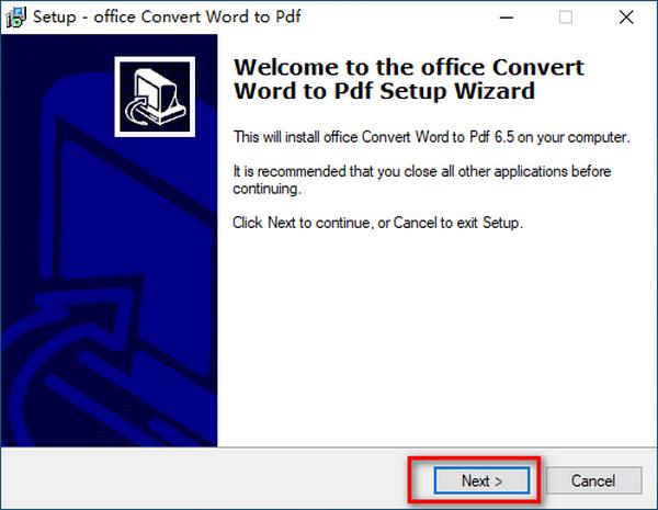 office Convert Word to Pdf(Word转PDF转换器)下载