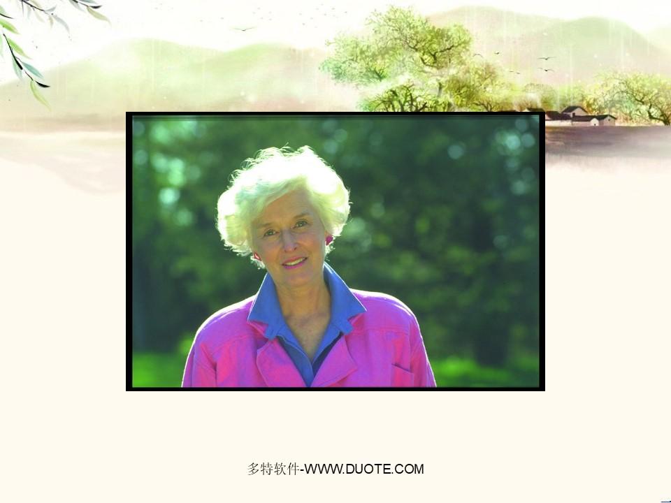 《奶奶的白发》PPT课件2下载