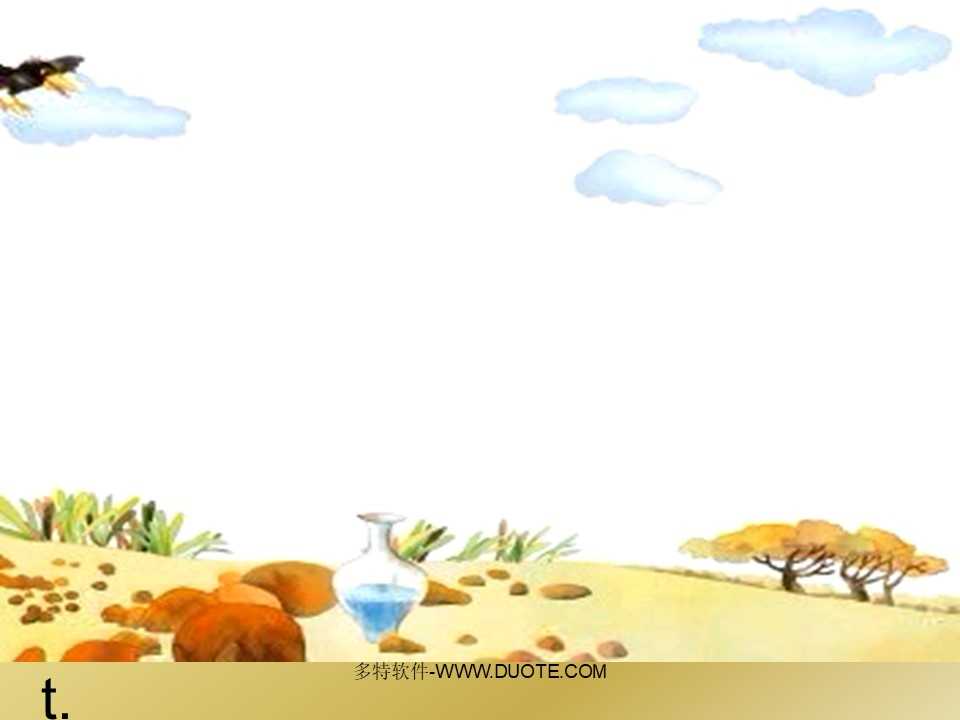 乌鸦喝水PPT课件下载4下载