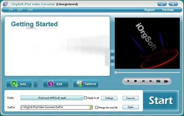 iOrgSoft iPod Video Converter(iPod视频转换器)下载