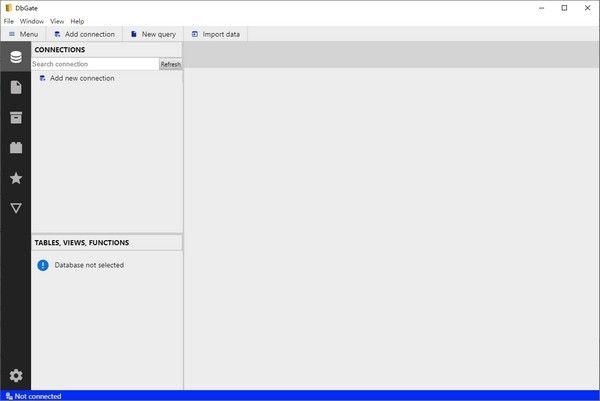 DbGate(数据库管理器)下载