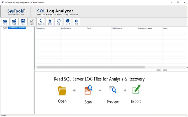 SysTools SQL Log Analyzer(SQL数据库日志分析工具)下载