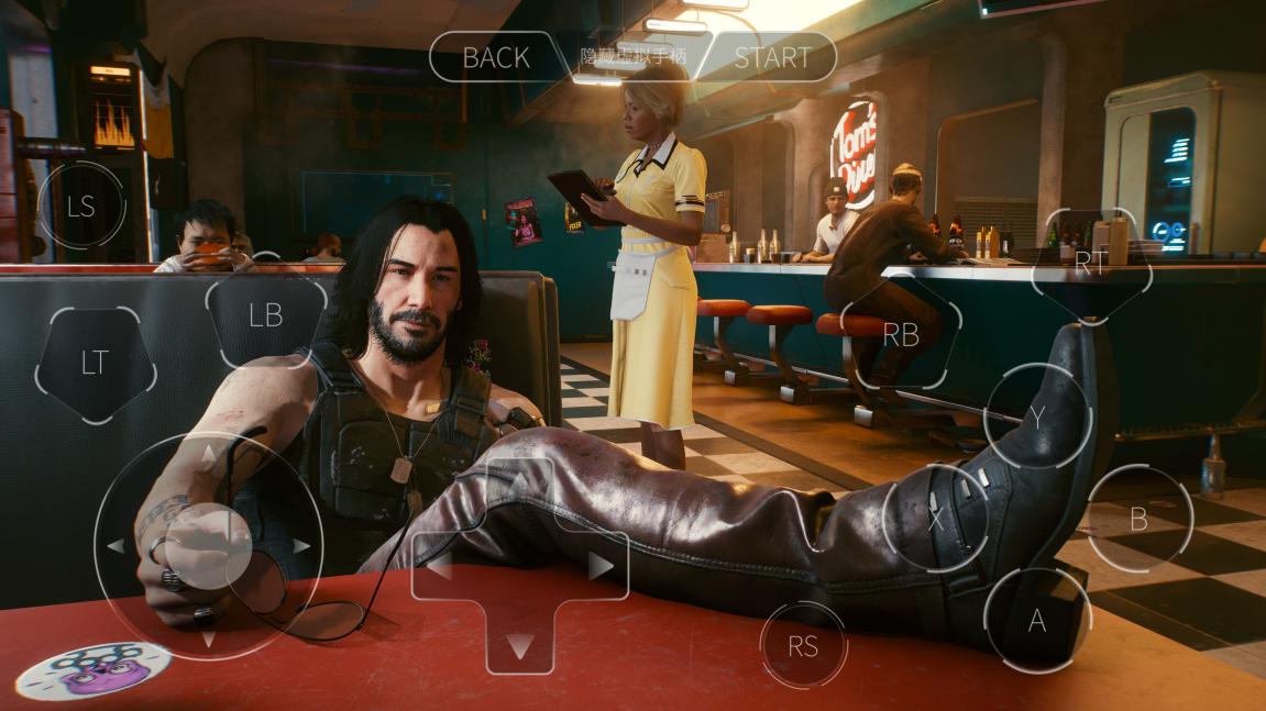 赛博朋克2077手机玩法步骤分享